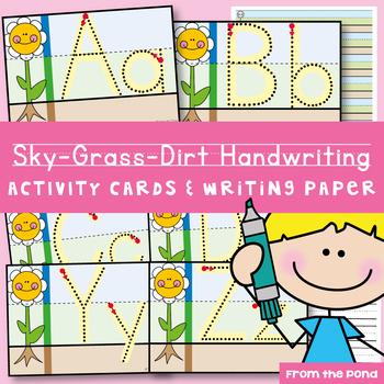 Handwriting Write n Wipe Cards {freebie}