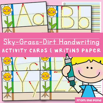 Handwriting Write n Wipe Cards {freebie}