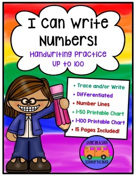 Handwriting - Writing Numbers Up to 100