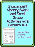 Handwriting and Independent Practice A-C