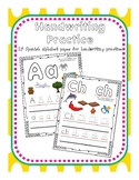 Handwriting and Letter Sound Recognition in Spanish
