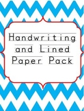 Handwriting and Lined Paper Set