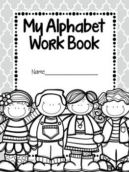 Letter, Handwriting, & Phonics Workbook {Differentiated!}