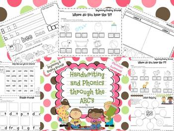 Handwriting and Phonics through the ABC's