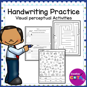 ABC Handwriting and Visual Perceptual Skills Practice