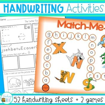 Handwriting and Alphabet Worksheets