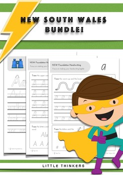 Handwriting bundle SAVE - New South Wales Foundation