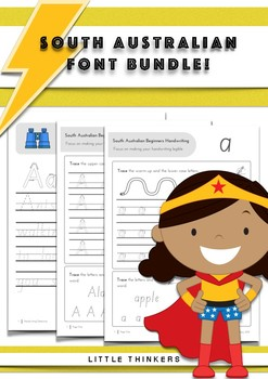 Handwriting bundle SAVE - South Australian Beginners