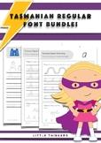 Handwriting bundle SAVE - Tasmanian Beginners Font