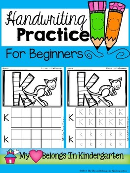 Handwriting for Beginners (Letter Formation)