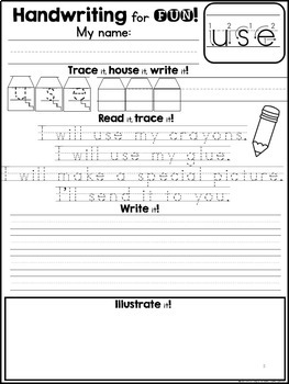 Handwriting for FUN! Unit 7: Sight Word Poems {2nd Grade Dolch Words}