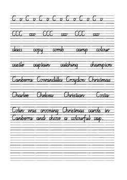 Handwriting for Grades 3 - 5