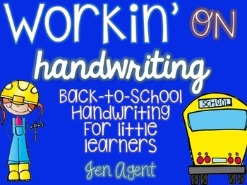 Handwriting {for little learners}