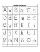 Handwriting letter guide - portrait mode