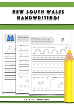 Handwriting practice - New South Wales Foundation