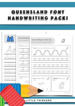 Handwriting practice - Queensland Beginners