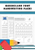 Handwriting practice - Queensland Beginners
