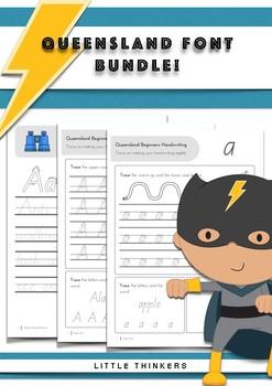 Handwriting bundle SAVE - Queensland Beginners Font
