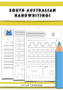 Handwriting practice - South Australian Beginners