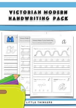 Handwriting practice - Victorian Modern Cursive