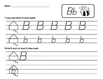 Handwriting practice pages in Orton-Gillingham style {Block & D'Nealian}!!
