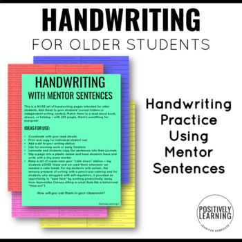 Handwriting with Famous Authors