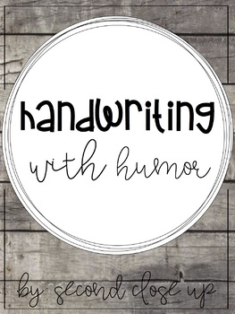 Handwriting with Humor