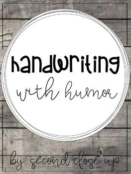 Handwriting with Humor