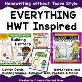 Handwriting without Tears HWT Inspired MEGA BUNDLE