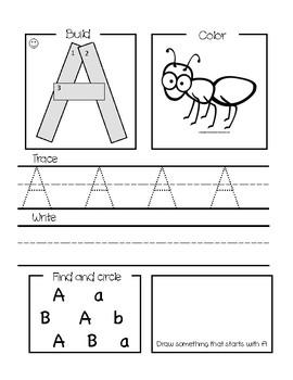 Letter of the Day Worksheet | for school | Pinterest ...