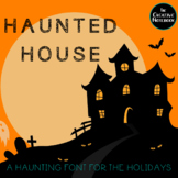Halloween Font for Personal or Commercial Use: JF Haunted House
