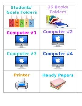 Handy Classroom Labels