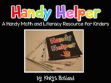 Handy Helper {A Math and Literacy Resource for Kindergarten} {CCSS}