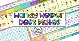 Handy Helper Desk Plates