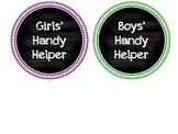 Handy Helper Labels