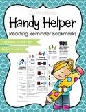 "Strategic Reading ""Handy Helper"" Bookmarks"