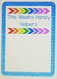 Handy Helpers Class Jobs
