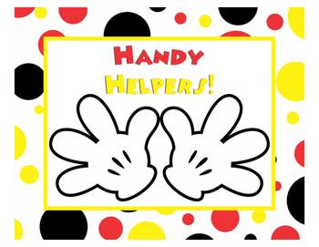 Handy Helpers (Classroom Jobs)