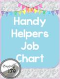 Handy Helpers Job Chart