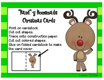 """""""Hand""""y Homemade Christmas Cards"""