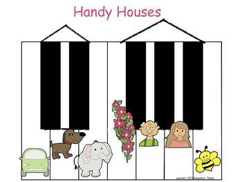 Handy Houses Poster - Easily Learn the Piano Keys