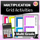 Handy Multiplication Grids!