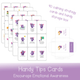 Handy Tips Cards   Making Calming Strategies Fun and Accessible