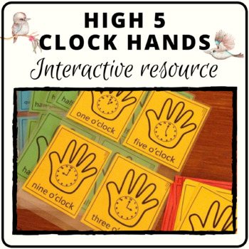 Analogue clocks for high five