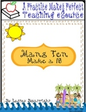Hang 10: Make A 10 - combined PDF and Smartboard version
