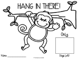 Hang In There! A Countdown to Summer Vacation, End of the Year Activity
