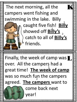 Hang Out with the Campers at Camp Pronoun!