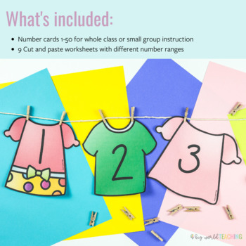 Hang The Washing Out - Number Sequencing !