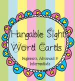 Hangable Sight Word Cards