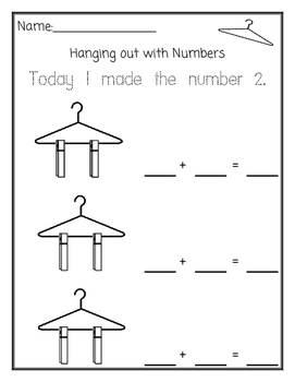 Hanger Math Composing Numbers